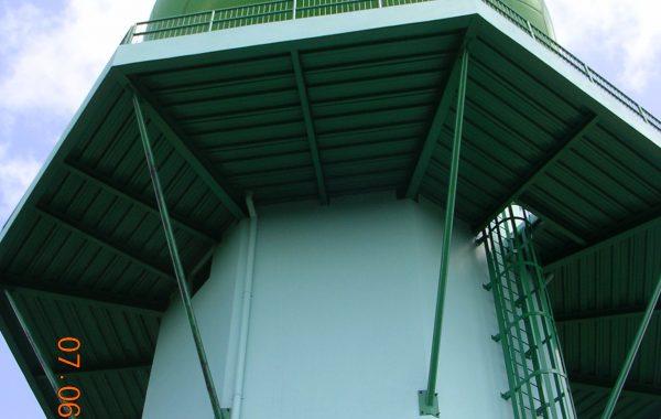 FIVE STOREY RADAR TOWER
