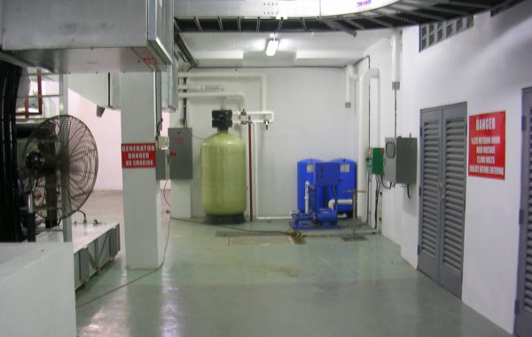 NEW PLANT ROOM, RED  HOUSE