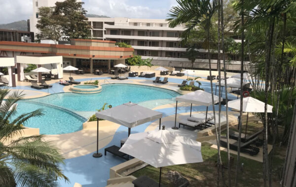 POOL AND POOL DECK UPGRADE WORKS AT HILTON TRINIDAD& CONFERENCE CENTRE